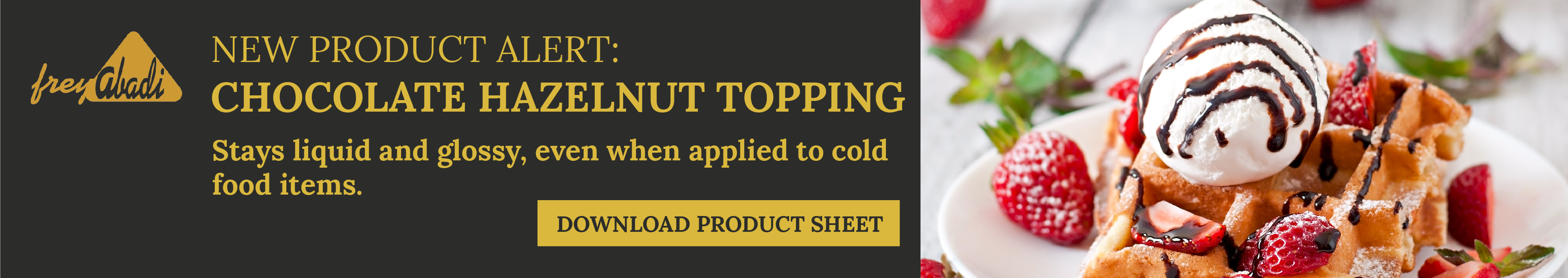 Download Chocolate Hazelnut Topping Product Sheet